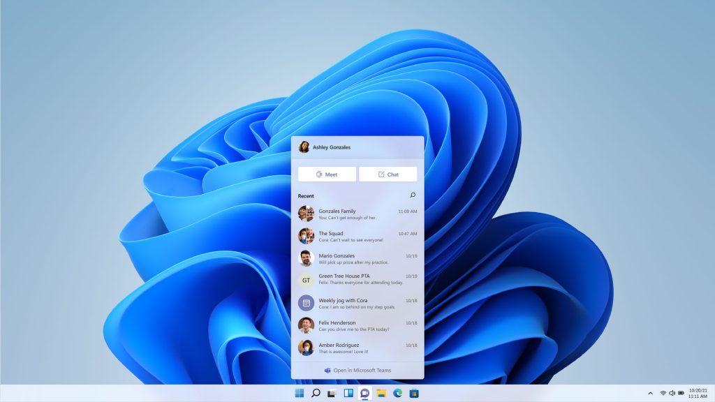 Windows 11 - Teams